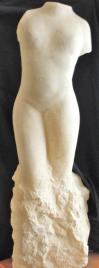 Venus sculpture en pierre statue de jean joseph chevalier 1
