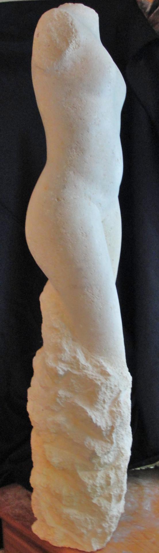 Sculpture sur pierre, ronde bosse, vénus
